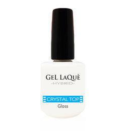 Smalto Gel Crystal Top Gloss Gel Laqu� Hybrid 15 ml.