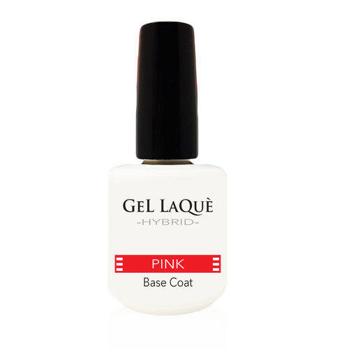 Smalto Gel Base Coat Pink Gel Laquè Hybrid 15 ml.
