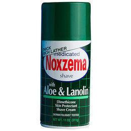 Schiuma Barba Aloe e Lanolina Noxzema 300 ml