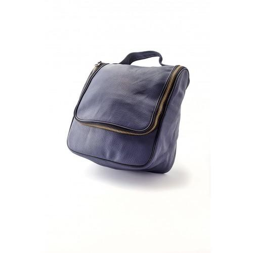 Borsa Barber Navy Blue Epsilon