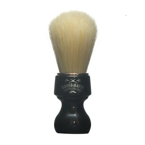 Pennello Barba Ciuffo Setola Sbiancata BarbaeBaffi Manico Nero 33359
