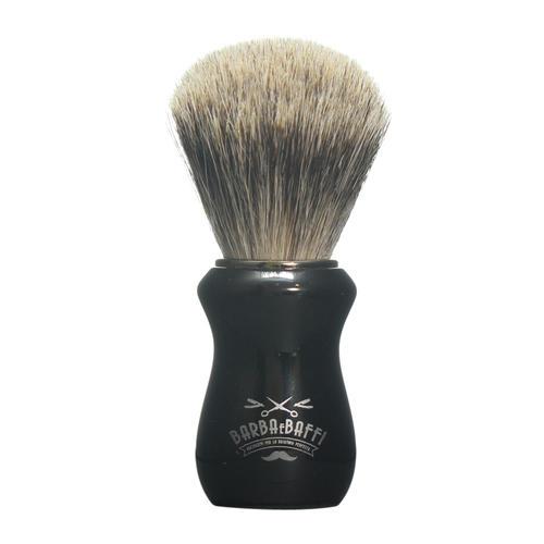 Pennello Barba Ciuffo Best Badger BarbaeBaffi Manico Nero 33357