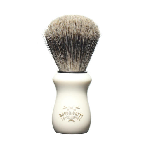 Pennello Barba Ciuffo Best Badger BarbaeBaffi Manico Avorio 33356
