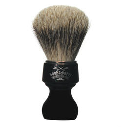 Pennello Barba Ciuffo Best Badger BarbaeBaffi Manico Nero 33355