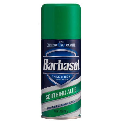 Schiuma da Barba Soothing Aloe Barbasol 198 ml