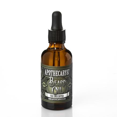 Olio per Barba Unscented Apothecary87 50 ml