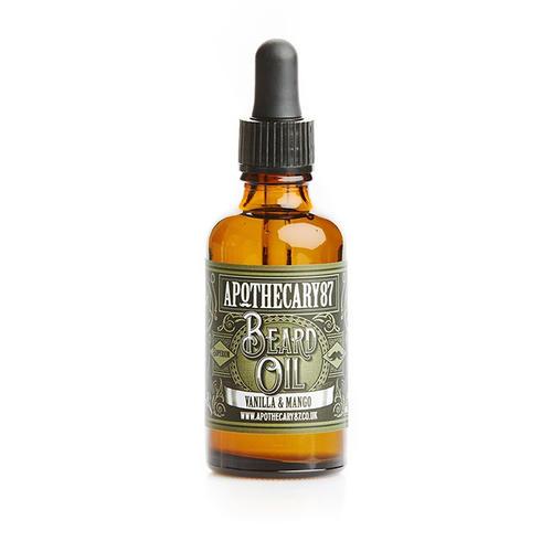 Olio per Barba Vaniglia e Mango Apothecary87 50 ml