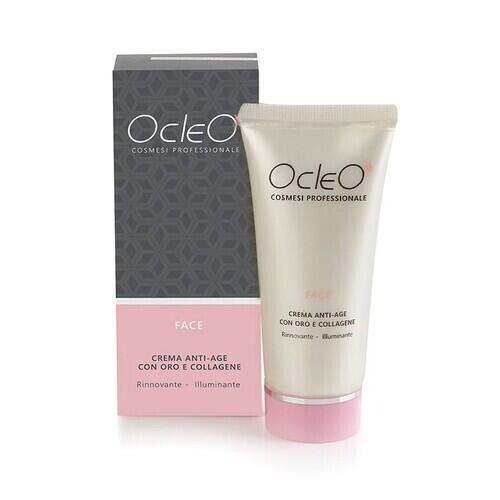 Crema Viso Anti age Oro e Collagene Ocleo 50 ml