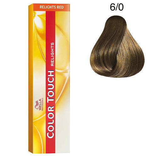 Color touch tubo 6/0 Wella 60 ml