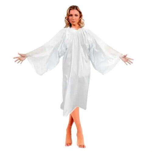 Camice Kimono Bolero in PE Bianco Conf. 20 Pz