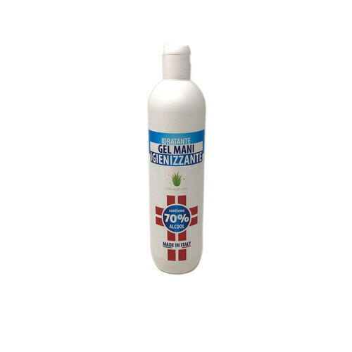 Gel Igienizzante Mani Idratante soloestetica 500 ml.