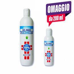 Gel Igienizzante Mani Idratante soloestetica 500 ml.+ 1 omaggio da 200ml
