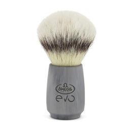 Pennello da Barba Fibra Sintetica Omega EVO Stone Ovale E1856
