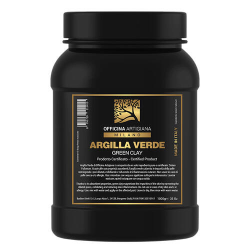Argilla Verde Officina Artigiana Milano 1 Kg