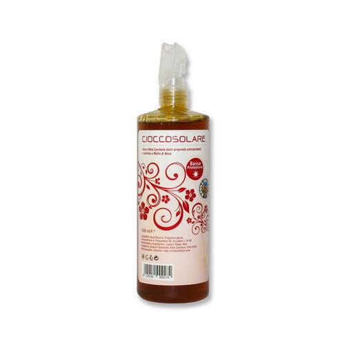 Gel Bassa Protezione Dispenser Spray Cioccosolare Marrone Royal 500 ml