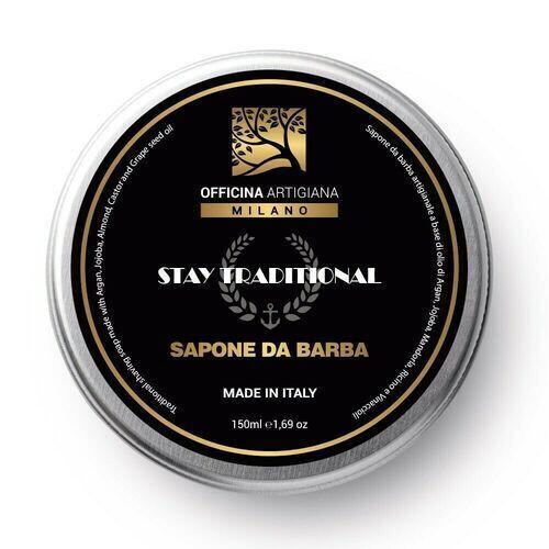 Sapone da Barba Stay Traditional Officina Artigiana Milano 150 ml
