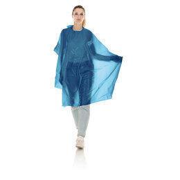 Mantella Taglio PE Skin Monouso Blu XLarge Conf. 20 pz. Xan