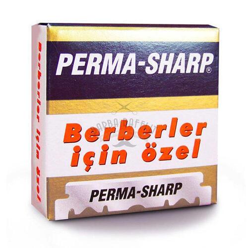 Lamette da Barba Smezzate Perma Sharp 100 Pz