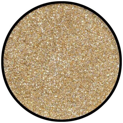 Polvere Fine Effekt Glitzer Gold Juwel Eulenspiegel 6 gr