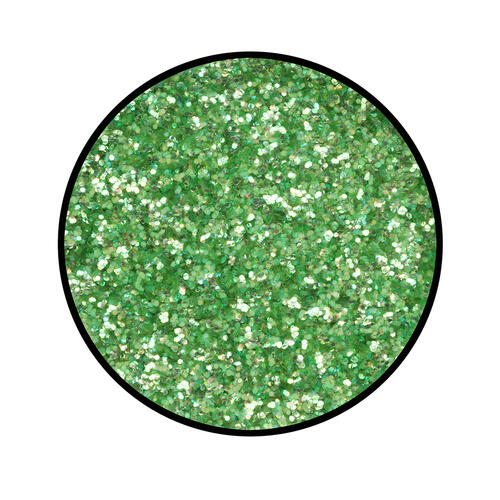 Polvere Glitter Smaragd Grun Verde Eulenspiegel 2 gr