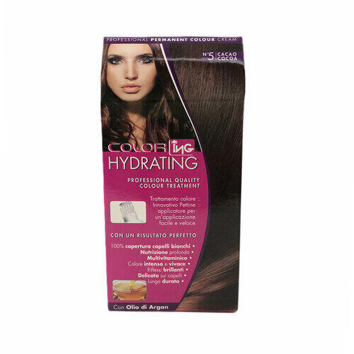 Kit Colorazione Permanente Color Hydrating Ing 5 Cacao