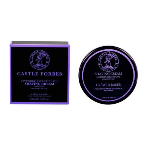 Crema da Barba Lavanda Castle Forbes 200 ml