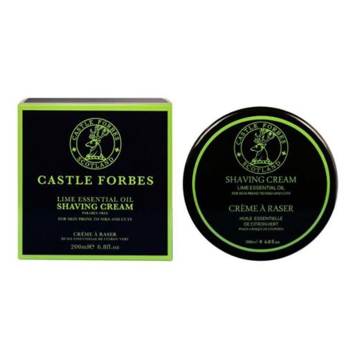 Crema da Barba Lime Castle Forbes 200 ml