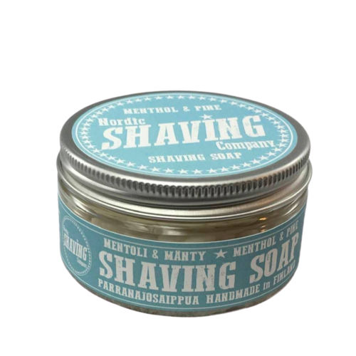 Sapone da Barba Shaving Soap Nordic Shaving Company Menthol e Pine 80 g