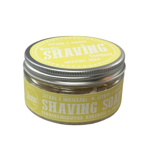 Sapone da Barba Shaving Soap Nordic Shaving Company Citrus e Ginger 80 g
