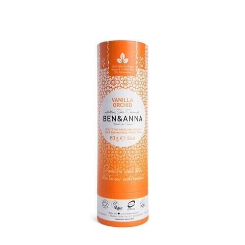 Deodorante in Stick Vaniglia Orchid Ben e Anna 60 g