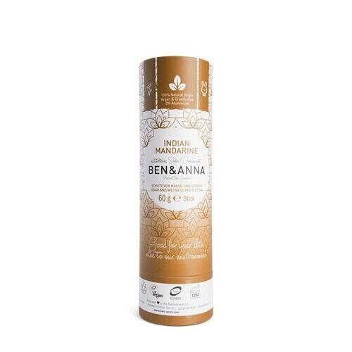 Deodorante in Stick Indian Mandarin Ben e Anna 60 g