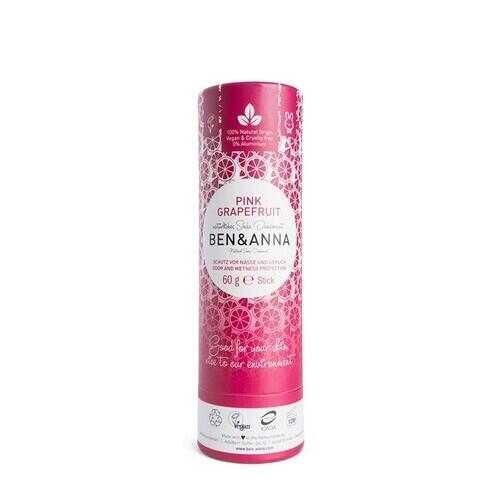 Deodorante in Stick Pink Grapefruit Ben e Anna 60 g