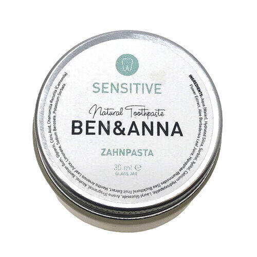 Dentifricio Sensitive Ben e Anna Vaso 30 ml