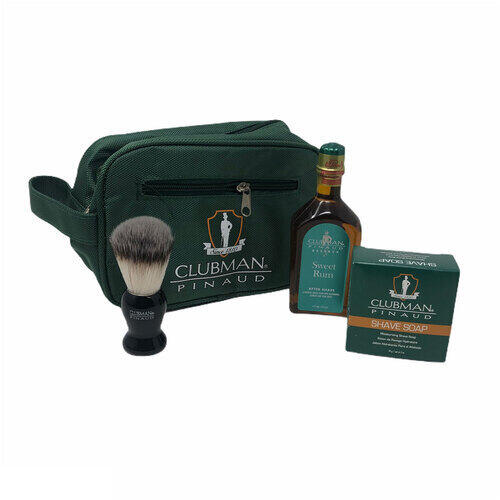 Shave Set Essential Sweet Rum Clubman 40455