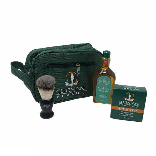 Shave Set Essential Whiskey Woods Clubman 40422