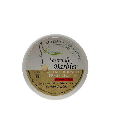 Sapone da Barba Latte di Giumenta e Ciliegia Le Pere Lucien 100 gr