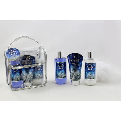 Confezione Regalo Shower Gel-Crema Mani-Body Lotion Midnight Frost