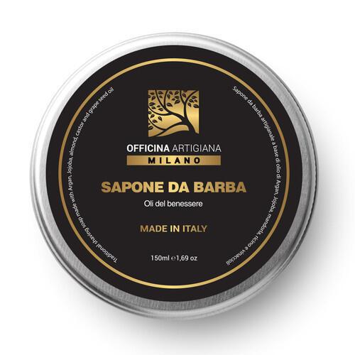Sapone da Barba Oli del Benessere Officina Artigiana Milano 150 ml