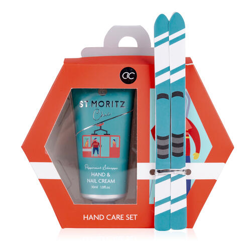 Set Cura Mani Alpine Chic con Crema Mani - Unghie 30 ml e 2 Limette