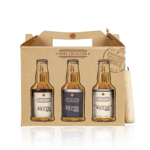Set Bagno Men s Collection 6 Prodotti da 100 ml + Apribottiglia