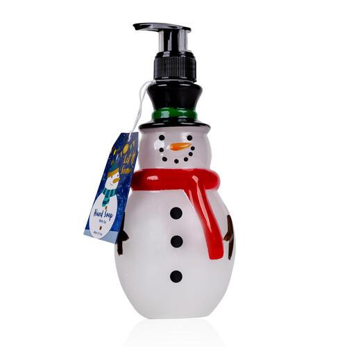 Sapone Mani in Dispenser Pupazzo di Neve 300 ml