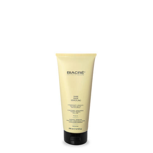 Maschera ai semi di lino Shine Mask tubo New Biacrè 200 ml