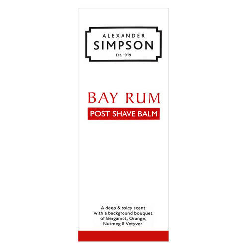 Post Shave Balm Bay Rum Simpsons 100 ml