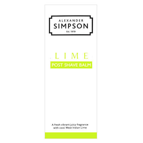 Post Shave Balm Lime Simpsons 100 ml