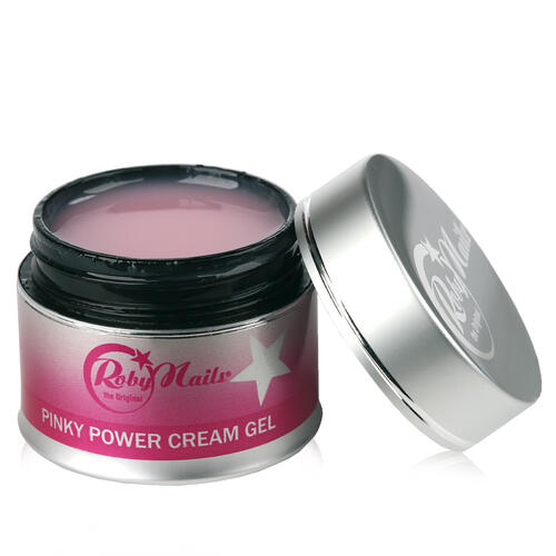 Pinky Power Cream Gel Roby Nails 15 gr
