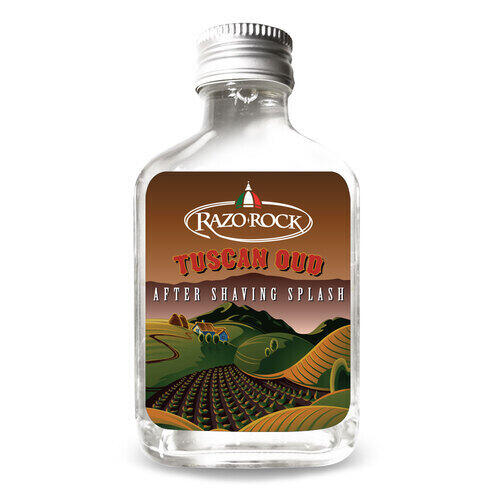 After Shave Lotion Tuscan Oud Razorock 100 ml.