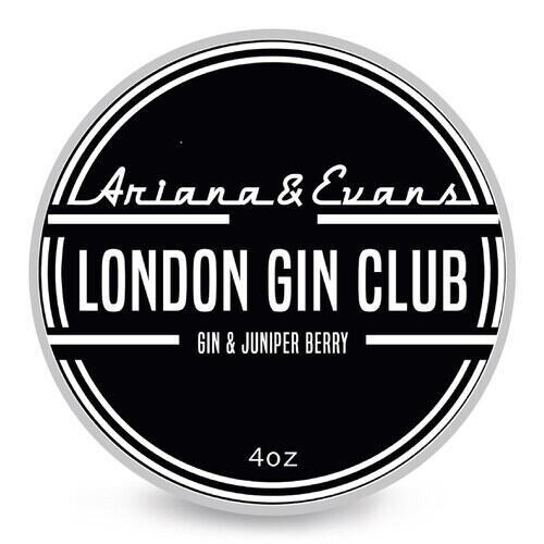 Sapone da barba London Gin Club Ariana e Evans 118 ml