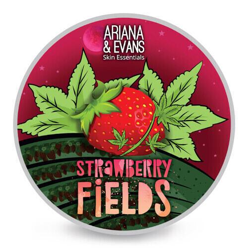 Sapone da barba Strawberry Fields Ariana e Evans 118 ml