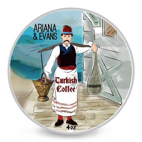 Sapone da Barba Turkish Coffe Ariana e Evans 118 ml