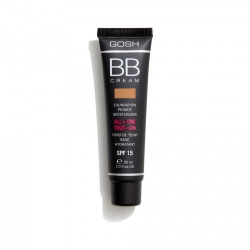 BB Cream Foundation Primer All in One 03 Warm Beige Gosh 30 ml